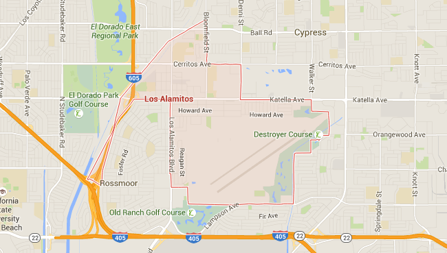 Map for Scott English Plumbing experts in Plumber in Los Alamitos