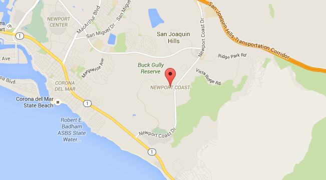 Map for Scott English Plumbing experts in Plumber in Newport Coast