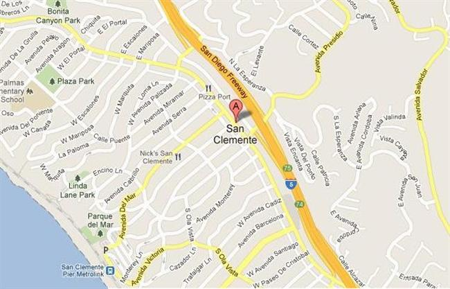 Map for Scott English Plumbing experts in San Clemente