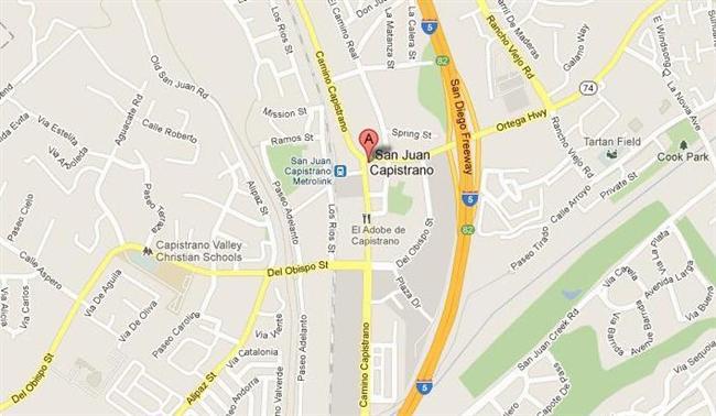 Map for Scott English Plumbing experts in San Juan Capistrano