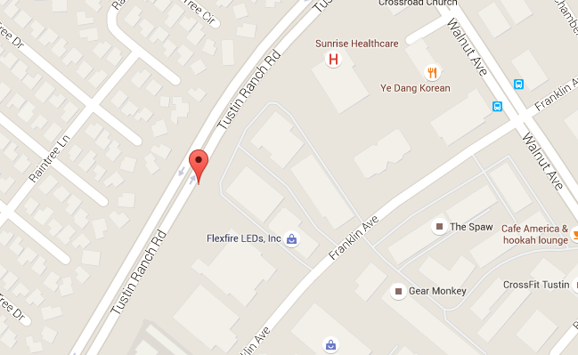 Map for Scott English Plumbing experts in Tustin Ranch