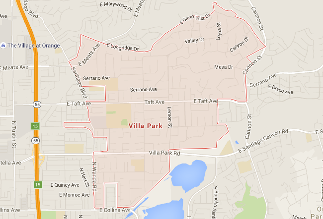 Map for Scott English Plumbing experts in Villa Park