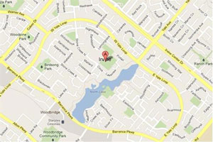 Irvine plumbing geo-tagged map