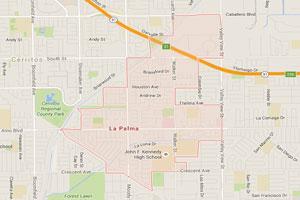 La Palma plumbing geo-tagged map