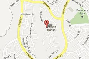 Ladera Ranch map geo-tagged image