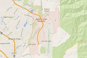 Rancho Santa Margarita map geo-tagged image
