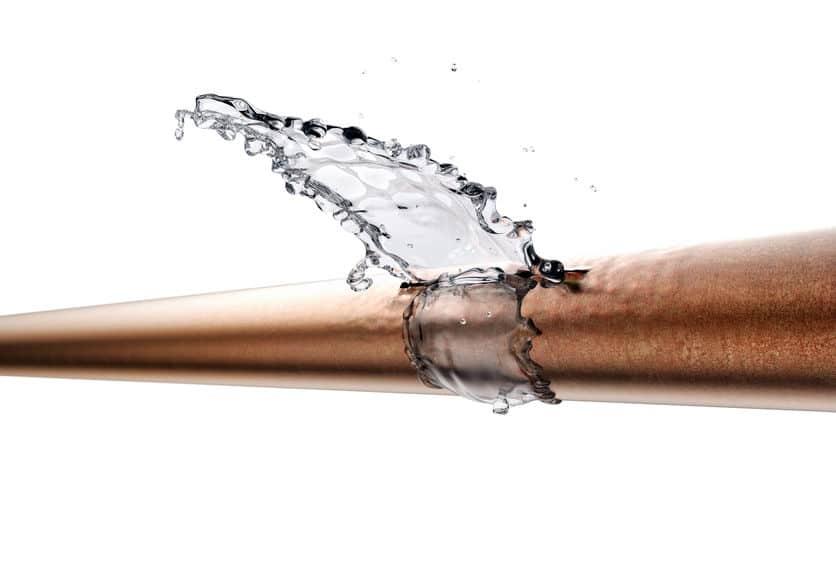 burst pipes in anaheim orange county ca