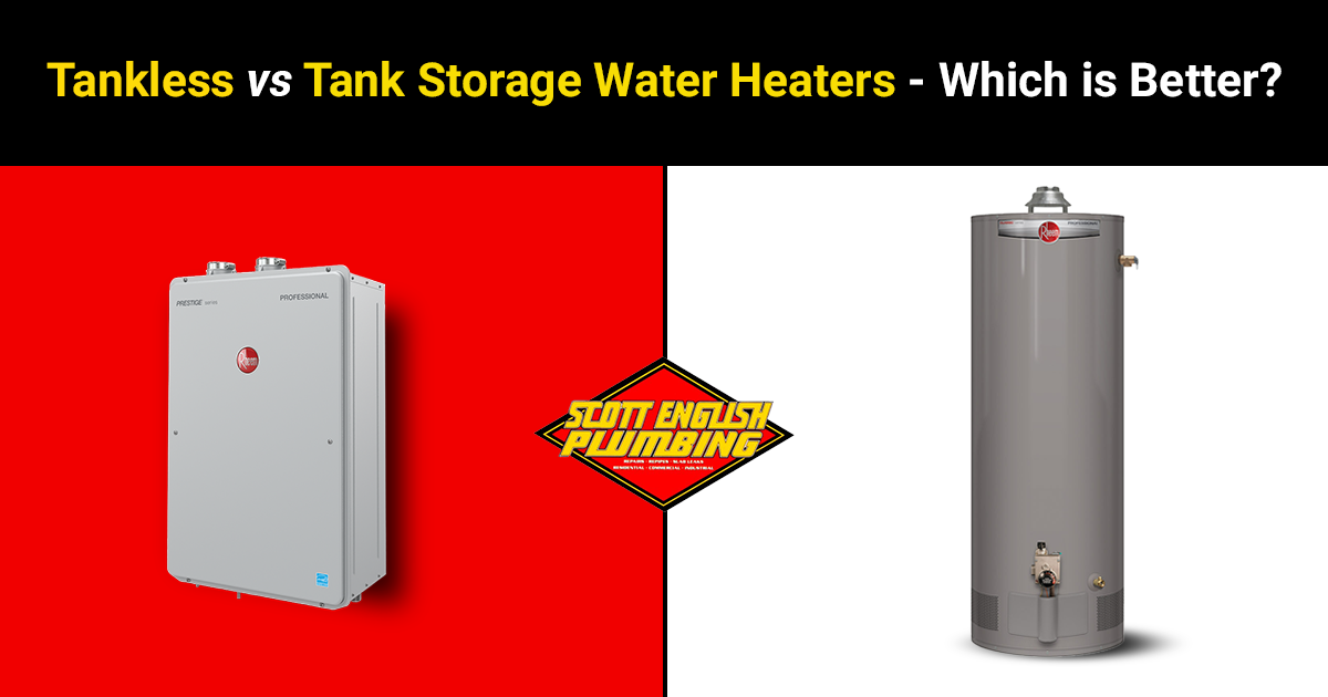 Tankless VS Conventional Water Heaters featured image