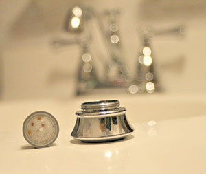 sink faucet aerator