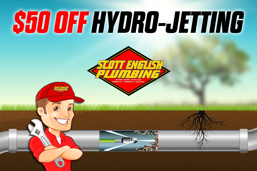 $50 Dollars off hydro-jetting image
