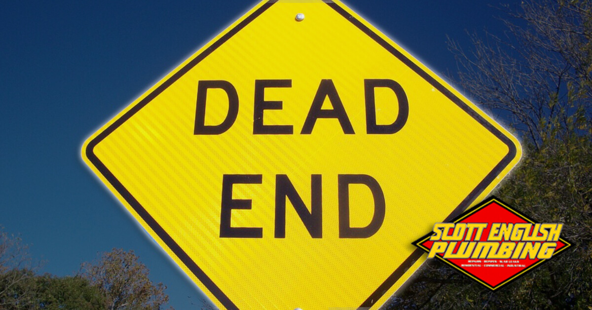 Dead End Job? Find a new one post featured image featuring Dead-End road sign