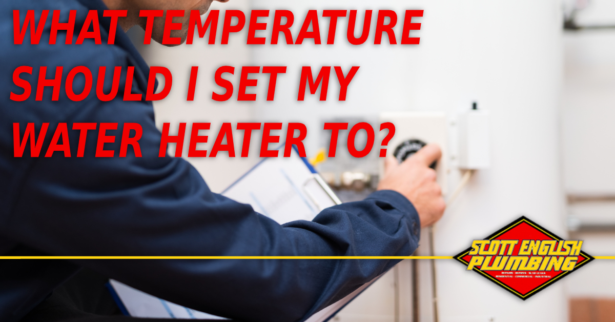 water heater temperature optimization featured image featuring plumber adjusting water heater temperature
