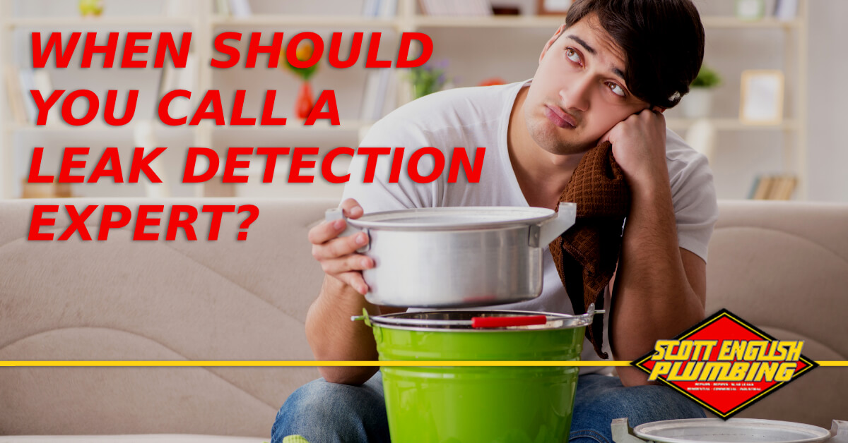 When to call a leak detection specialist